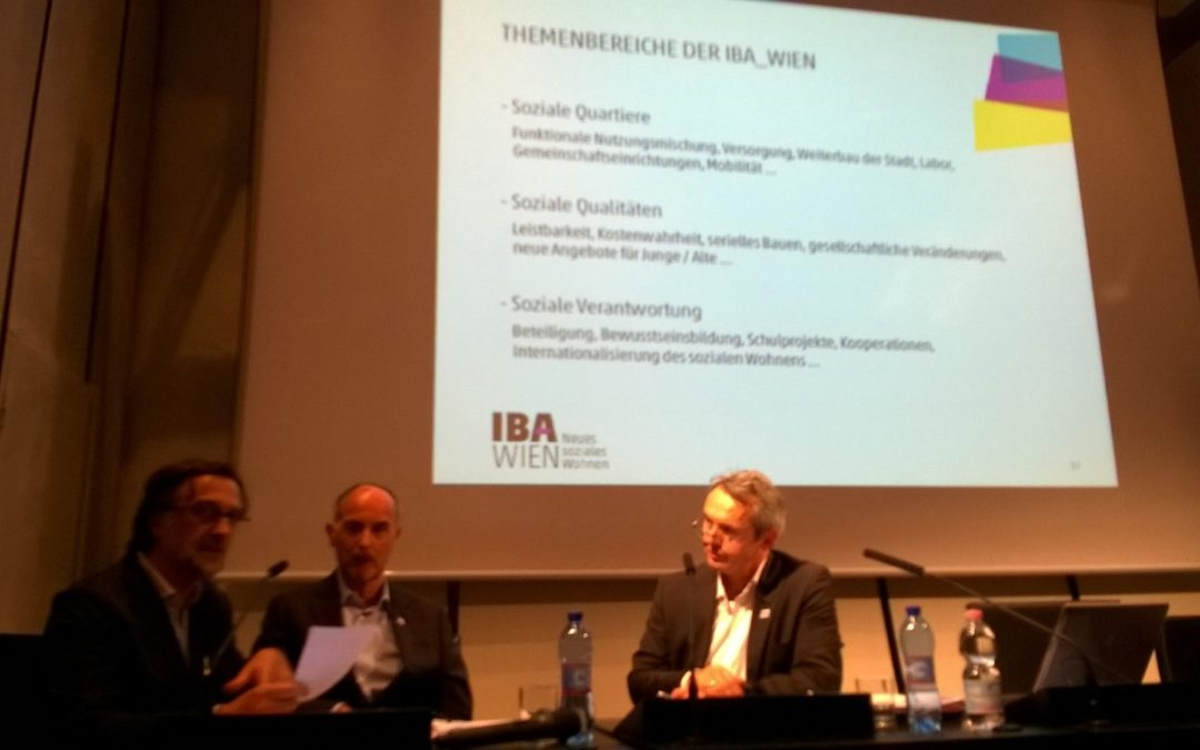 First exchange between IBA Wien, Stuttgart and Parkstad